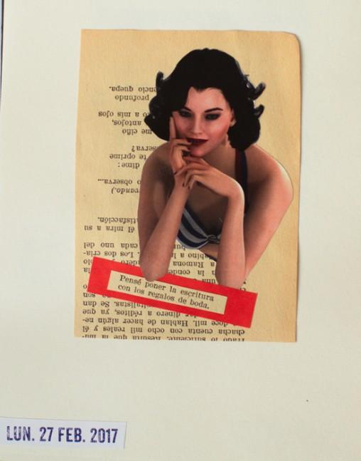 Pensé poner la escritura con los regalos de boda  Collage de lunes 27 de febrero 2017 para www.losdiascontados.com  #diacolas #losdiascontados #losdiascontados2017 #collage #collageart #collagehandmade #collageoftheday #collageonpaper @los.dias.contados